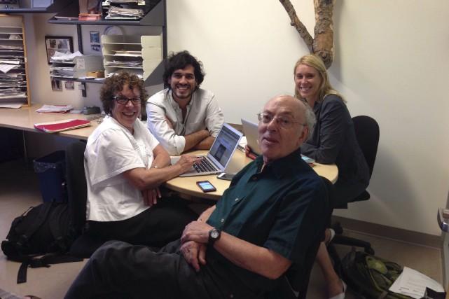 Les cocréateurs du MOOC de groupe de McGill... (PHOTO FOURNIE PAR L'UNIVERSITÉ MCGILL)