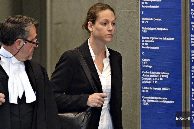 L'agente Marie-Pierre Tremblayavait été démasquée par un autre... (Le Soleil, Patrice Laroche)