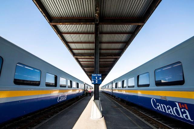 «Le transport de passager par train est une... (photo fournie par via rail)
