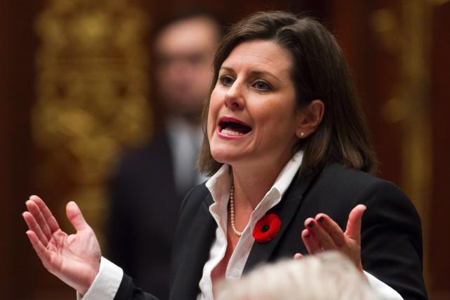 La ministre de la Justice et de la... (Photo Clement Allard, La Presse Canadienne)