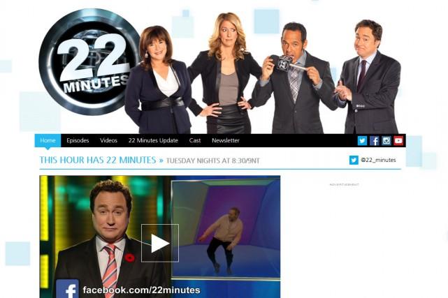 L'émission humoristique du réseau anglais de Radio-Canada This Hour Has 22... (CAPTURE D'ÉCRAN)