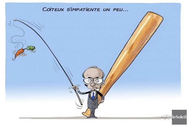 André-Philippe Côté, Le Soleil... (André-Philippe Côté, Le Soleil)