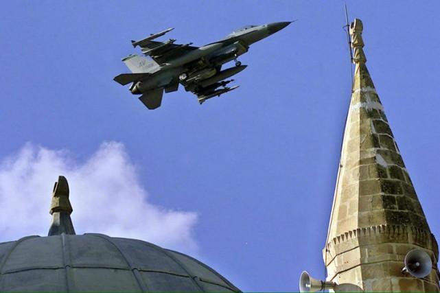 La base aérienne d'Incirlik en Turquie va permet... (ARCHIVES AFP)