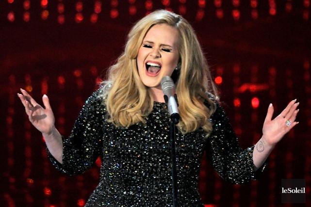 Adele proposera le 20 novembre son premier album... (Photothèque Le Soleil)
