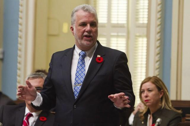 Philippe Couillard... (La Presse Canadienne)