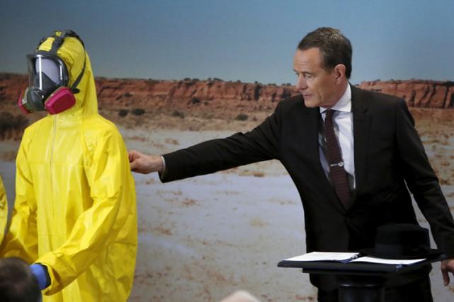 Bryan Cranston, qui a incarné le protagoniste Walter... (PHOTO REUTERS)