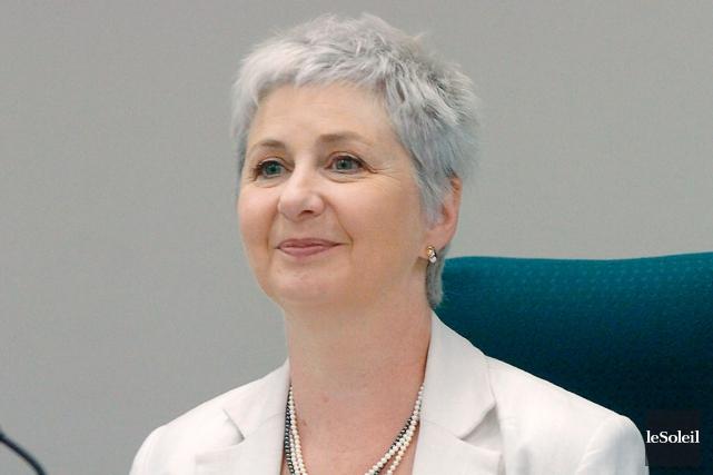 La coroner en chef Catherine Rudel-Tessier a indiqué... (Photothèque Le Soleil, Jean-Marie Villeneuve)