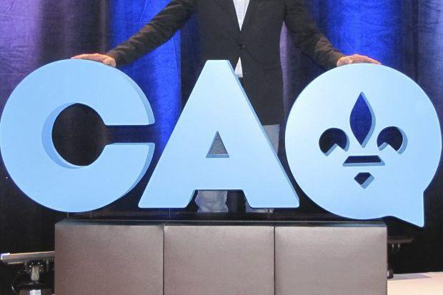 La fin de semaine dernière, la CAQ voulait... (Fournie par la CAQ)