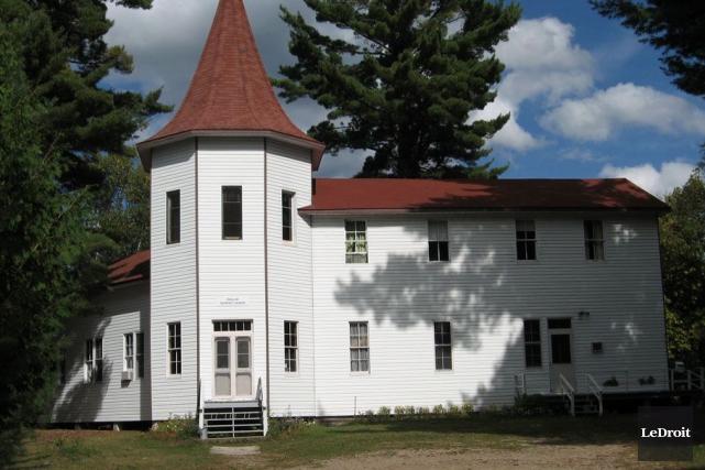 En mars 2014, la propriété située au nord... (Archives, LeDroit)