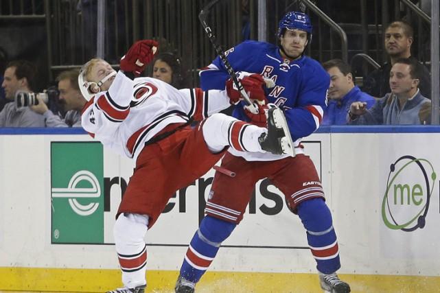 Henrik Lundqvist croit que les Rangers de New York forment une équipe en... (PHOTO AP)