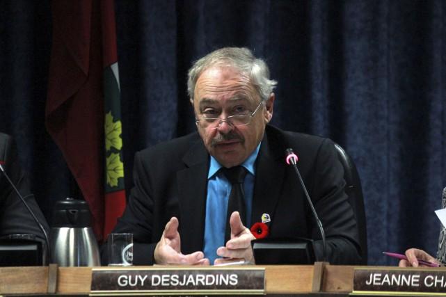 Le maire de Clarence-Rockland, Guy Desjardins, souhaite qu'une... (Martin Brunette, LeDroit)