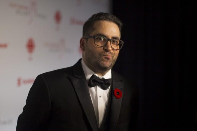 Samuel Archibald était l'un des finalistes du Prix... (Photo Presse Canadienne)