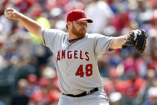Tommy Hansona porté les couleurs des Angels en... (ARCHIVES REUTERS)