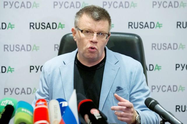 Le directeur exécutif de l'Agence russe antidopage (RUSADA),... (AP, Alexander Zemlianichenko)