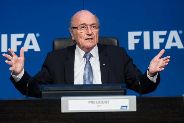 Le président démissionaire de la FIFA, Joseph Blatter,est... (Photo Ennio Leanza, archives AP)