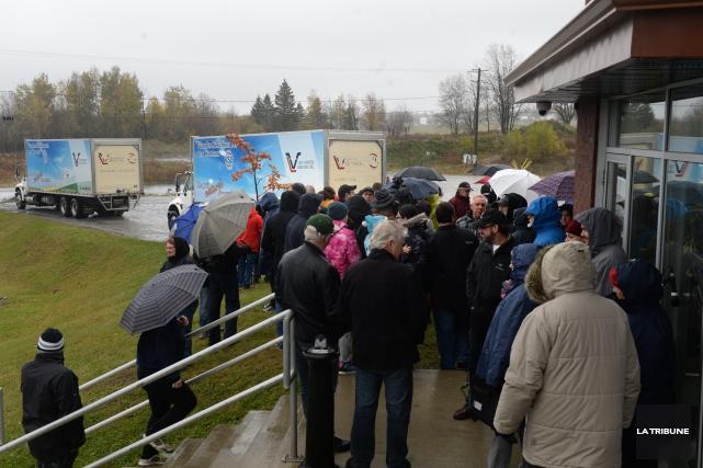 Une délégation de gens d'Asbestos est attendue à Québec mercredi après-midi... (Archives La Tribune, René Marquis)