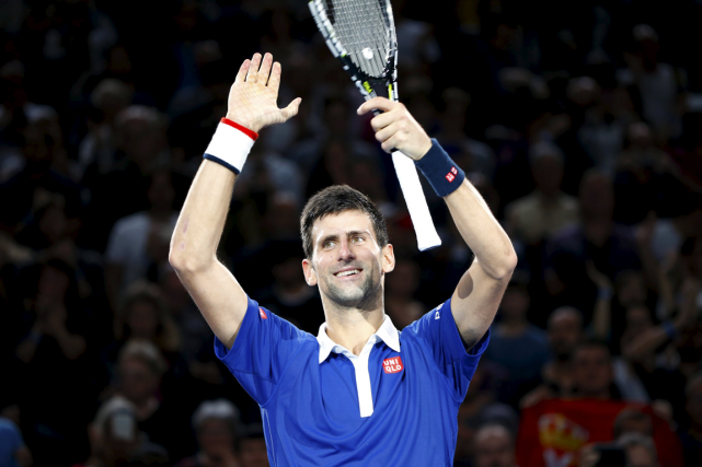 Novak Djokovic recevra le prix ATP World Tour pour... (Photo Charles Platiau, Reuters)