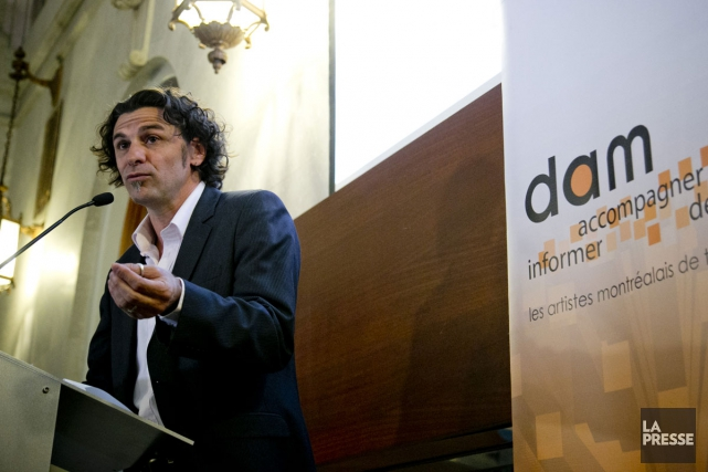 Jérôme Pruneau, directeur général del'organisme Diversité artistique Montréal.... (PHOTO DAVID BOILY, ARCHIVES LA PRESSE)