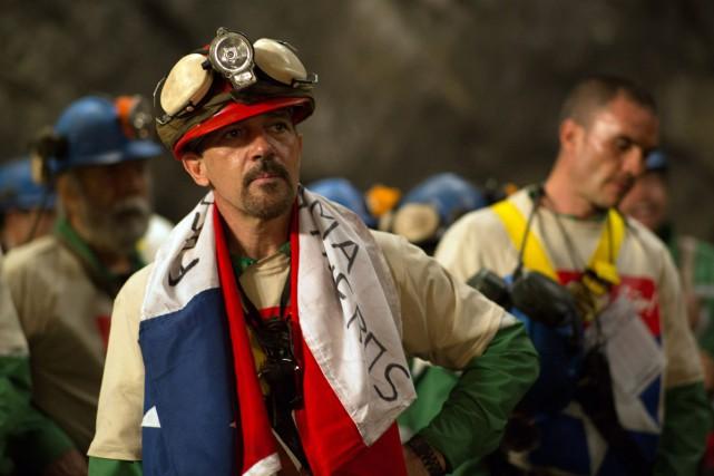 Antonio Banderas dans une scène du film The... (PHOTO FOURNIE PAR WARNER BROS.)