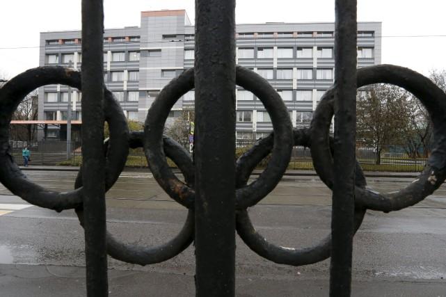 Accusée de dopage, l'équipe d'athlétisme de la Russie... (PHOTO SERGEI KARPUKHIN, ARCHIVES REUTERS)