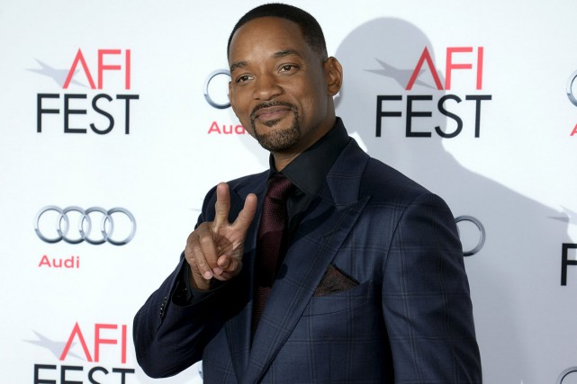 Will Smith à la première du film Concussion... (PHOTO REUTERS)