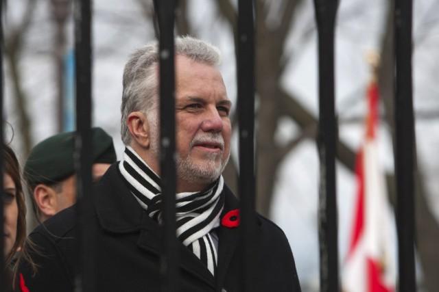 À Québec pour participer à la traditionnelle cérémonie... (La Presse Canadienne, Clement Allard)