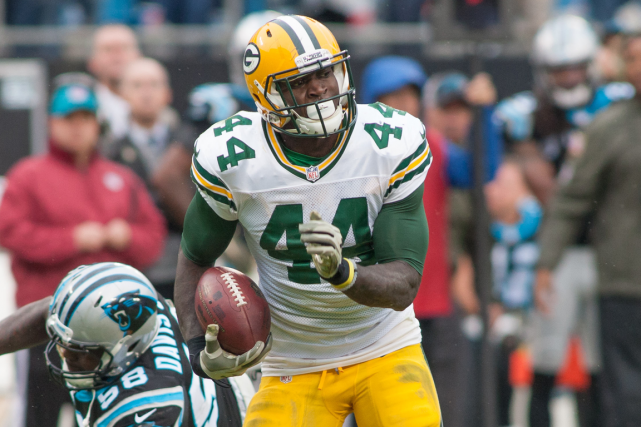 James Starks... (Photo Jeremy Brevard, USA Today)