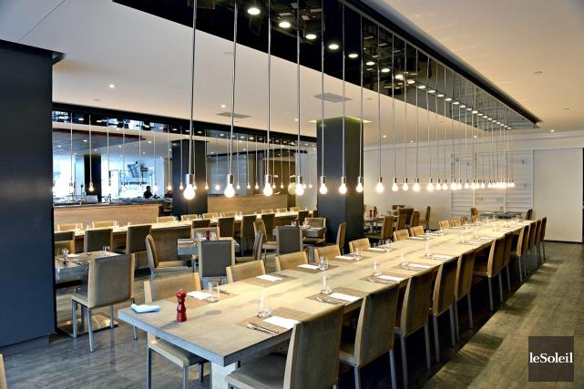 Table Bar Gastronomique, le restaurant de l'Hôtel PUR... (Le Soleil, Patrice Laroche)