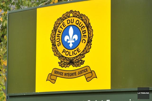 Les policiers de la Sûreté du Québec ont annoncé l'arrestation de deux hommes... (Archives La Tribune)