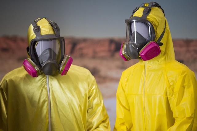 Quelques-uns des objets marquants de Breaking Bad ont... (AFP, Jim Watson)