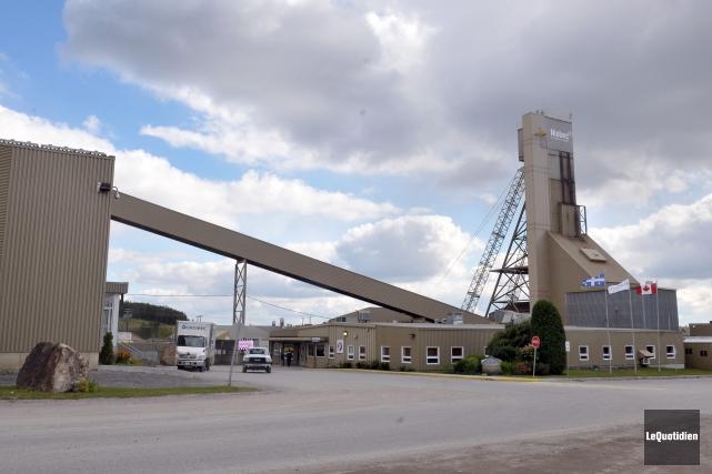 Les opérations ont repris graduellement à la mine... (Archives Le Quotidien, Rocket Lavoie)