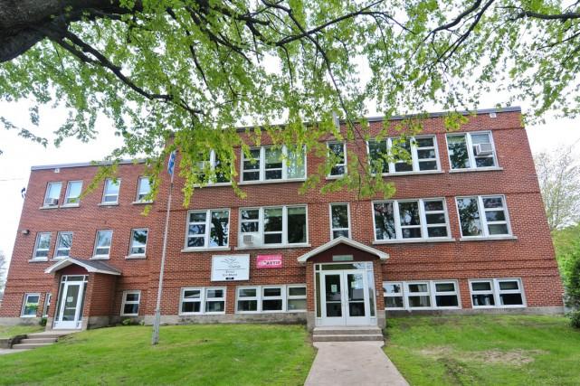 L'école primaire Sainte-Marie de Saint-Boniface.... (Émilie O'Connor)