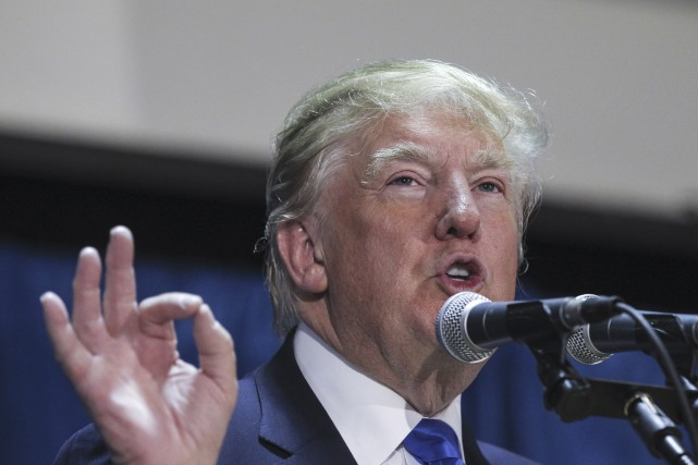 «Donald Trump se voit le candidat du Parti... (Cheryl Senter, Associated Press)