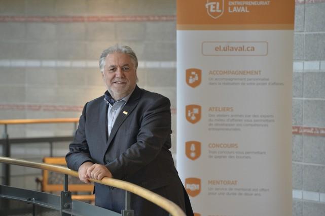 Le président-directeur général d'Entrepreneuriat Laval, Yves Plourde, souhaite... (Le Soleil, Pascal Ratthé)