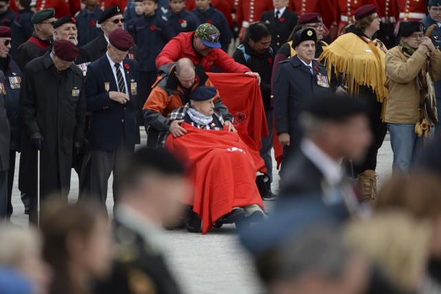 On dénombre près de 700 000 vétérans et... (La Presse Canadienne)