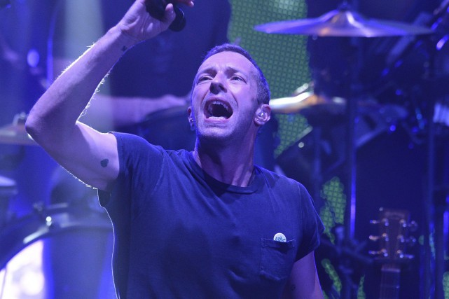 Chris Martin, de Coldplay... (PHOTO ARCHIVES AFP)