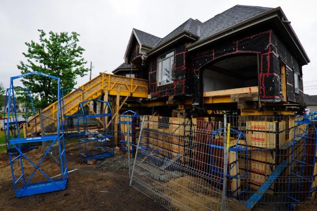 Les réparations des maisons affectées par la pyrrhotite... (François Gervais)