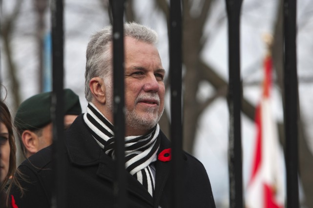 Philippe Couillard... (Photo Presse Canadienne)