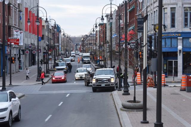 Beaucoup de projets sont à venir au centre-ville... (François Gervais)
