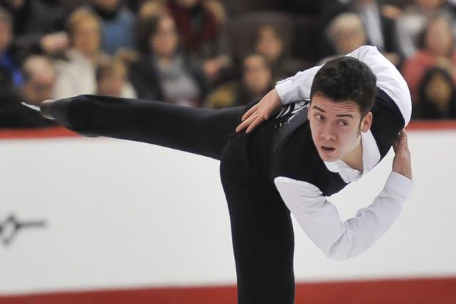 Samuel Angers est devenu champion senior québécois le... (MARTIN ROY, Archives Le Droit)