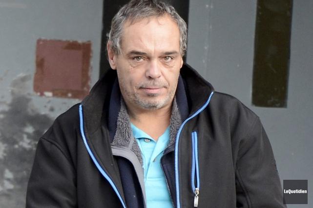 Yvan Lagacé a plaidé coupable, hier, à une... (Photo Le Quotidien, Jeannot Lévesque)
