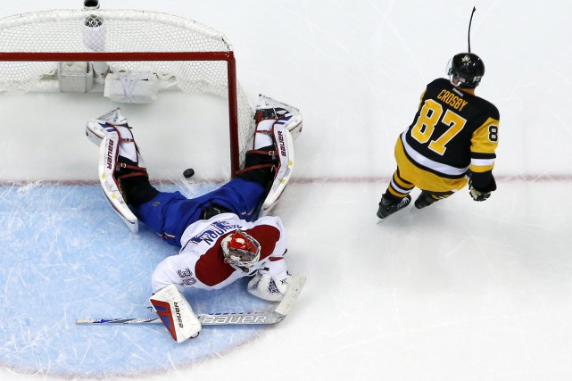 Mike Condon a bloqué 31 tirs, mais n'a... (Photo Associated Press)