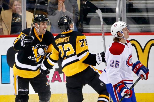 Relisez le clavardage de l'affrontement entre le Canadien et les Penguins de... (Photo Gene J. Puskar, AP)