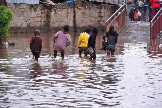 Les autorités kényanes estiment que 2 millions et... (PHOTO SIMON MAINA, ARCHIVES AFP)