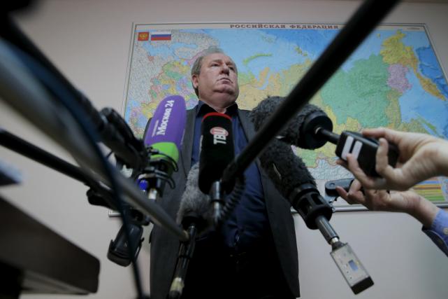 Le président de la Fédération russe d'athlétisme, Vadim... (Photo Maxim Shemetov, Reuters)