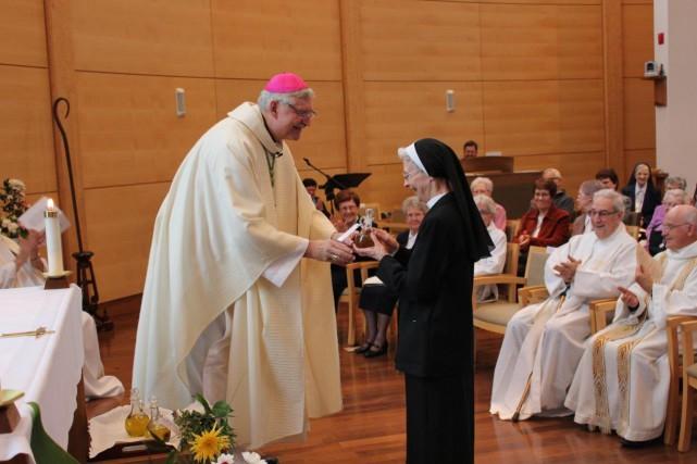 Le diocèse de Nicoletsalue ses communautés religieuses