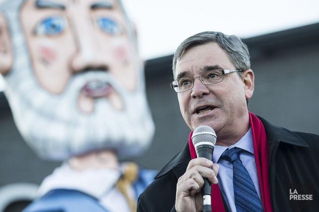 «C'est un vote historique», clame le président du... (Photothèque La Presse)