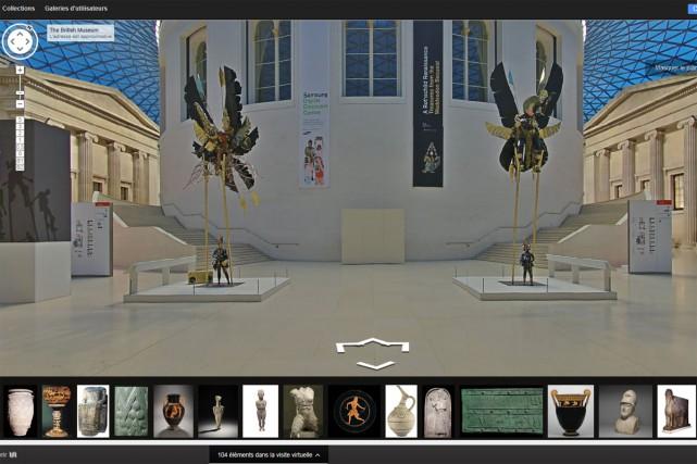 Le British Museum a annoncé la mise en ligne jeudi des photographies de 4500... (CAPTURE D'ÉCRAN)