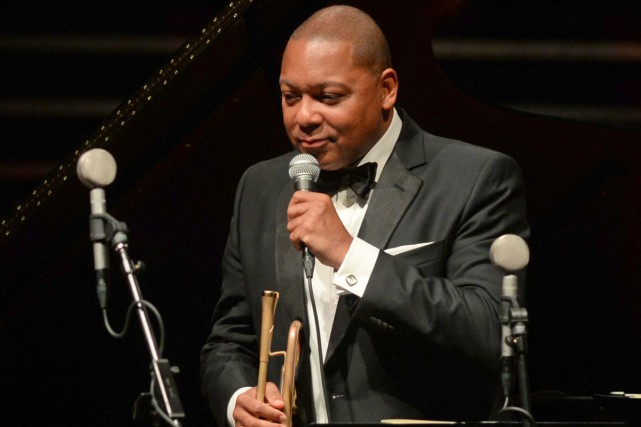Wynton Marsalis photographié mardi.... (PHOTO AP)