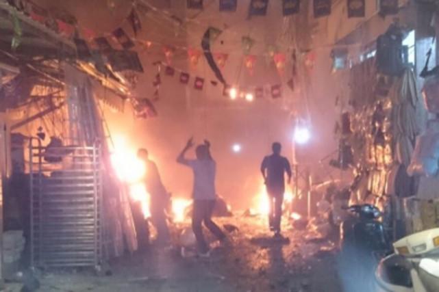 Plus de 40 personnes ont perdu la vie... (PHOTO TIRÉE DE TWITTER)